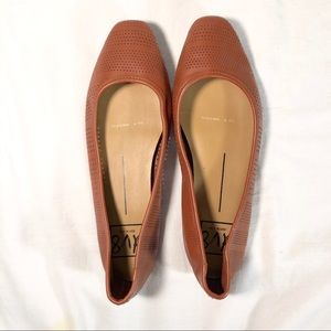DV8 Buckley Perforated Ballet Flats Size 8